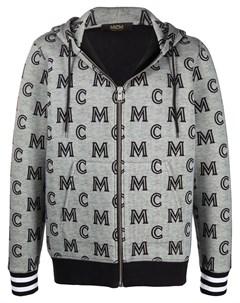 худи с логотипом Mcm