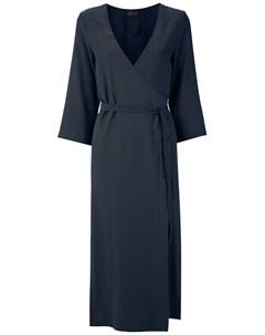 Платье с запахом и разрезом сбоку Haight