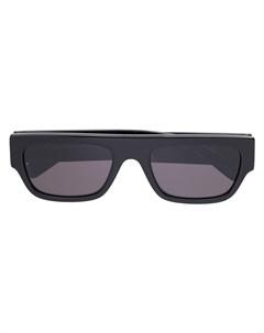 Солнцезащитные очки с логотипом из страз Stella mccartney eyewear