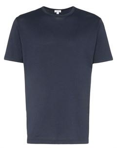 Классическая футболка с короткими рукавами Sunspel