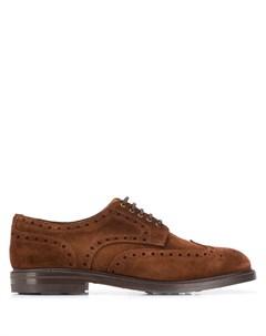 туфли Marron на шнуровке Berwick shoes