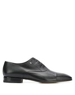 туфли дерби с квадратным носком Moreschi