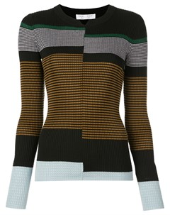 пуловер тонкой вязки в рубчик Proenza schouler white label