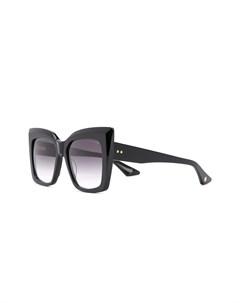 Солнцезащитные очки с затемненными стеклами в квадратной оправе Dita eyewear
