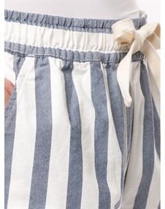 Короткие шорты в полоску Venroy