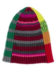 шапка бини в полоску Colville