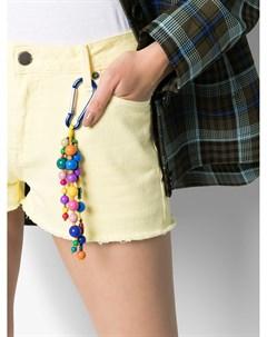 Джинсовые шорты с вырезами Mira mikati