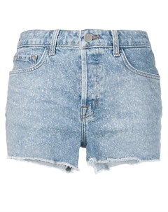 джинсовые шорты с прорезями J brand