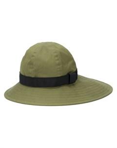 шляпа с контрастной лентой Sacai