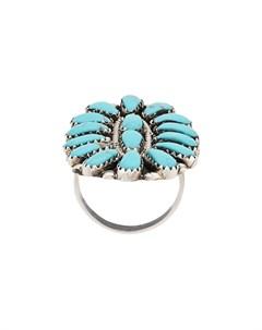 кольцо с декоративными камнями Jessie western