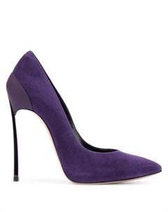 туфли на шпильке с заостренным носком Casadei