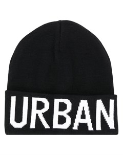 шапка бини с логотипом Les hommes urban
