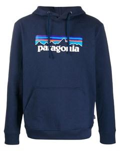 Худи с логотипом Patagonia
