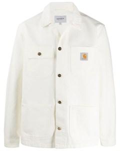 Джинсовая куртка свободного кроя Carhartt wip
