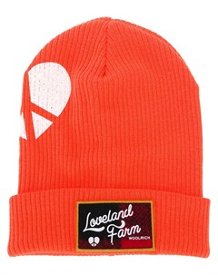 шапка бини x Griffin с нашивкой логотипа Woolrich