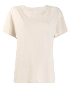 Классическая однотонная футболка Nili lotan