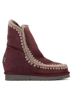 ботинки с подкладкой Mou