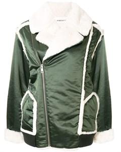 пальто с подкладкой из овчины Portspure