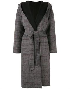 двухстороннее пальто с воротником шалька Loveless
