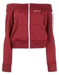 спортивная куртка с открытыми плечами Palm angels
