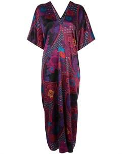платье туника с абстрактным принтом Natori