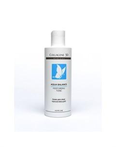 Тоник для лица увлажняющий Aqua Balance 250 мл Medical collagene 3d