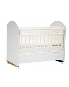 Детская кроватка Bonito с ящиком колесо качалка Incanto