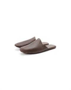 Домашние кожаные туфли Frette