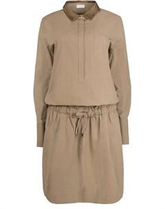 Хлопковое платье Brunello cucinelli