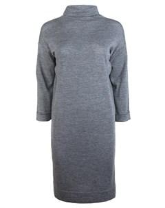 Шерстяное платье Brunello cucinelli