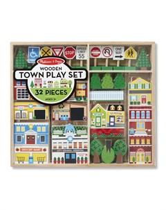 Деревянный игровой набор Город Melissa & doug
