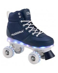 Детские ролики Квады Advanced Led с подсветкой Hudora