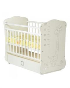 Детская кроватка Venerdi Жираф поперечный маятник Sweet baby