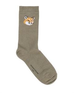 Короткие носки Maison kitsuné