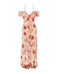 Длинное платье De la vali