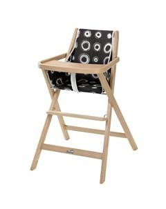 Складной детский стул для кормления Traveller натуральный Geuther