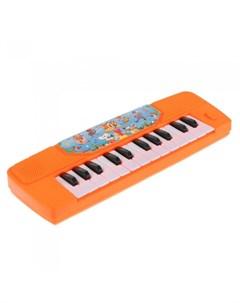 Музыкальный инструмент электропианино Шаинский 23 песни детского сада Умка
