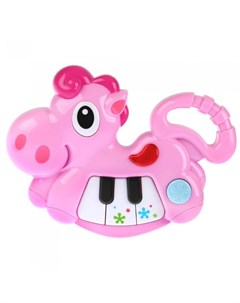 Музыкальный инструмент Лошадка с пианино Умка