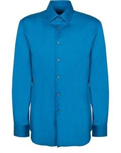 Мужская однотонная рубашка Prada