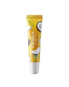Смягчающий крем для губ с кокосом frudia coconut honey salve lip cream Frudia