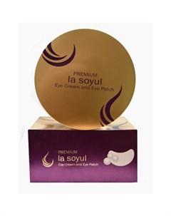 Патчи и крем для кожи вокруг глаз la soyul la soyul premium eye cream and eye patch La soyul