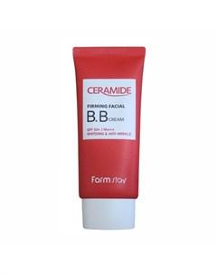 Укрепляющий вв крем с керамидами farmstay ceramide firming facial bb cream spf 50 pa Farmstay