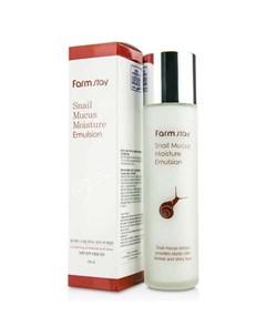увлажняющая эмульсия с экстрактом улитки farmstay snail mucus moisture emulsion Farmstay