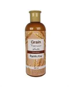 выравнивающая эмульсия с экстрактом ростков пшеницы farmstay grain premium white emulsion Farmstay