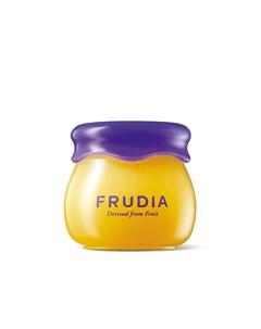 увлажняющий бальзам для губ с черникой frudia blueberry hydrating honey lip balm Frudia