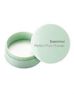 пудра рассыпчатая the saem saemmul perfect pore powder The saem