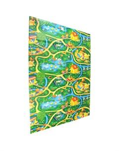 Игровой коврик складной Дороги 200х140х1 см Юрим