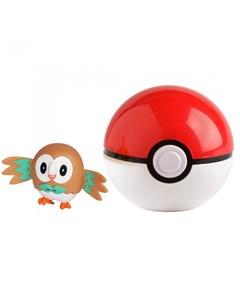 Игровой набор Покебол и Роулет Pokemon