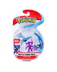 Игровой набор Саблай и Зубат Pokemon