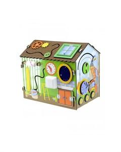 Деревянная игрушка Бизиборд Я строитель Фабрика мастер игрушек